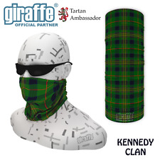 Kennedy Clan Tartan Multifunctional Headwear Neckwarmer Snood Bandana