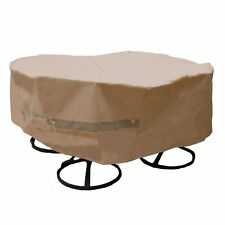 Sure Fit Slipcovers 047293402272 Round Table and Chair Cover