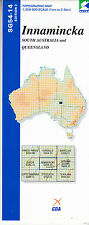 Innamincka SG54-14 1:250,000  topographic map brand new latest edition