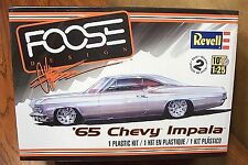 REVELL '65 CHEVY IMPALA 'FOOSE DESIGN' 1/25 SCALE MODEL KIT