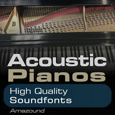 ACOUSTIC PIANOS SOUNDFONT COLLECTION 40 .sf2 FILES 1GB+ SAMPLES BEST VALUE EVER