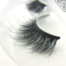 Popular Luxurious 3D False Eyelashes 100% Siberian Mink Fur Classic Messy Lashes