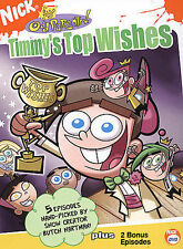 Fairly Oddparents: Timmys Top Wishes  DVD Tara Strong, Susanne Blakeslee, Daran