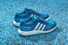 ADIDAS PRIMEKNIT PURE BOOST- SOLAR BLUE- UK 6, US 6.5 HIGHLY LTD, ULTRA RARE