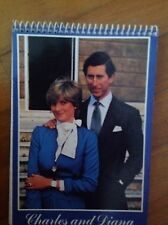 PRINCESS DIANA ROYAL ENGAGEMENT SOUVENIR SPIRAL PAD RARE 1981