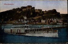 Schiffe ~1910 Rhein Dampfer Schiff Undine Ehrenbreitstein bei Koblenz Coblenz AK