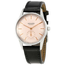 Nomos Orion Rose Dial Stainless Steel Unisex Watch 352