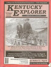 KENTUCKY EXPLORER MAGAZINE VOLUME 24, NUMBER 7, JANUARY 2010 - HOPEWELL, KY