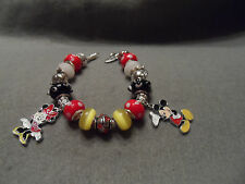 Authentic Pandora bracelet with Disney Mickey and Minnie Mouse Theme (#1)