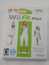 Wii Fit Plus (Nintendo Wii, 2009) COMPLETE