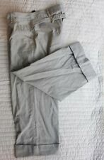 FRENCH CONNECTION cotton pants 12 NWOT