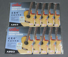 10pcs Lot A203 Light .012 Stainless Steel Acoustic Guitar Strings 1-st