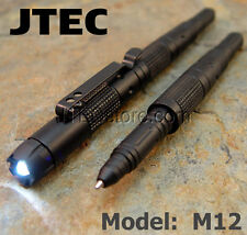 New Aluminum Tactical Pen LED / GLASS BREAKER / DNA CATCH Self Defense