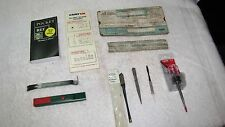 Lot 10 Marking Tools-Husky Scratch Awl, Scoring,Precision Punch,Slide Chart