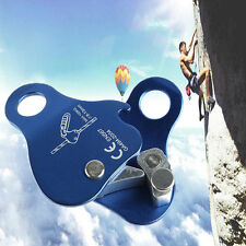 24KN Safety Outdoor Climbing Mountaineering Rope Grab Protecta Gear Equip