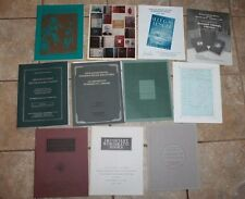 11 numismatic books AUCTION CATALOGS ADAMS, KOLBE STACK, ANA, CHAMPA, coin money