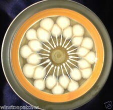 """CASUAL CERAM JAPAN 9006 JUPITER 7.5"""" SALAD PLATE ELECTRA FLOWER STARBURST PODS"""