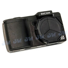 JJC Auto Open / Close Lens Cap for RICOH GX-200 GX-100 Camera replace Ricoh LC-1