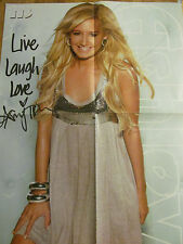 Ashley Tisdale, The Jonas Brothers, Double Four Page Foldout Poster