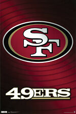 SAN FRANCISCO 49ERS FOOTBALL POSTER - LARGE SIZE 24x36