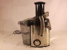 Salton Juiceman Jr. 2-speed Brushed Metal Juicer