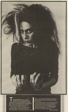 2/3/85PN2/3 ARTICLE THE DOMINATRIX 0F TECHNOLOGY DIAMANDA GALAS