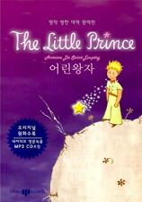 Le Petit Prince The Little Prince Korean & English Book with Audio MP3 CD Korea