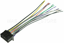 WIRE HARNESS FOR PIONEER DEH-P510UB DEHP510UB *PAY TODAY SHIPS TODAY*
