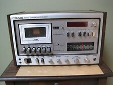 """Vintage CRAIG """"All In One"""" Compact Stereo System Model A 2000-for parts/repair"""
