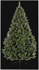 2.1 Metres Rocky Mountain Christmas Tree Cones & Snow Tipped Branches Articial