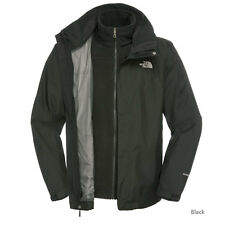 NUOVO The North Face Men's TNF Nero evolvere II TRICLIMATE GIACCA TAGLIA M