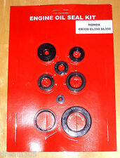 HONDA CB350 CL350 SL350 Motorcycle Engine OIL SEAL KIT! 1969 1970 1971 1972 1973