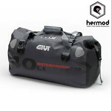 Givi WP400 Waterproof Holdall Motorcycle Dry Tail Bag Luggage 40 Litre - Grey