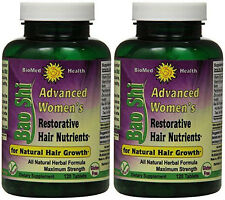 Biomed Health Advanced Womens Bao Shi Restorative Hair Nutrients 120 (Paks of 2)