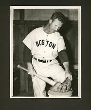 Boston RED SOX lot * Joe Dobson photo, 1962 letter, Jim Bagby clipping (signed?)