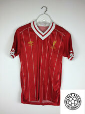 Retro LIVERPOOL 82/85 Home Football Shirt (S) Soccer Jersey Umbro Vintage