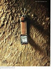 PUBLICITE ADVERTISING  116  1997   Hermès  la montre Cape Cod