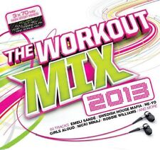 Workout Mix 2013 (3xCD) SEALED Lawson Stooshe Jessie J Emeli Sande Lady Gaga PSY