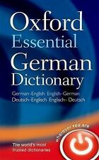 Oxford Essential German Dictionary: Over 100 000 words, phrases and translations