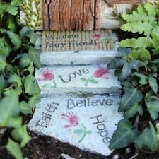 Welcome Fairy Walkway Path for the fairies in your garden