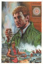 Hellblazer #240 Painted Art Cover - John Constantine - 2008 art by Glenn Fabry