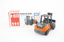 Takara Tomy Tomica #111 Toyota L and F Geneo Stacker 1/62 Diecast Toy Car