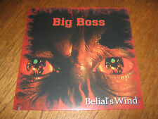 "BIG BOSS (ROOT)  ""Belial's Wind"" LP cales master's hammer"