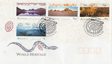 Australia 1996 World Heritage Sites FDC (Cradle Mountain Sheffield, Tas)