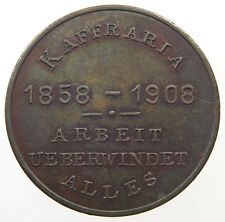 SOUTH AFRICA ANNIVERSARY OF GERMAN SOUTH AFRICA 1908 KAFFRARI 30mm,10g  #v12 153