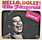 ++ELLA FITZGERALD hello, dolly LP VERVE can't buy my love/memories of you VG++