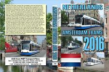 3382. Amsterdam. Netherlands. Trams. August 2016. Mainly sunny some thundery clo