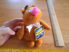 """The Muppets Fozzie Bear Fisher Price #865 doll plush 1979 7"""" NWT beanbag"""