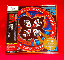 KISS ROCK AND ROLL OVER JAPAN MADE AUTHENTIC SHM MINI LP CD NEW OOP UICY-93656