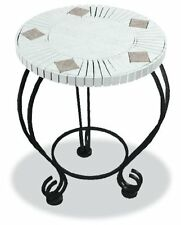 Uniflame 18 MOSAIC CERAMIC TILE TABLE TO MATCH ZAS701A NEW